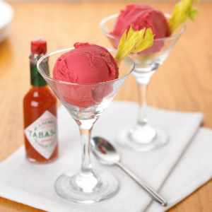 Bloody Mary Sorbet