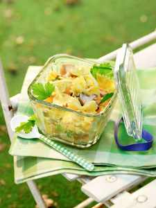 Curry Nudelsalat zur Grillparty