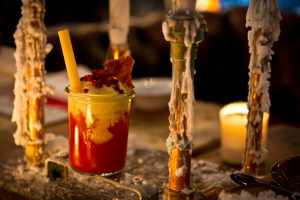 Curry Wurst Cocktail