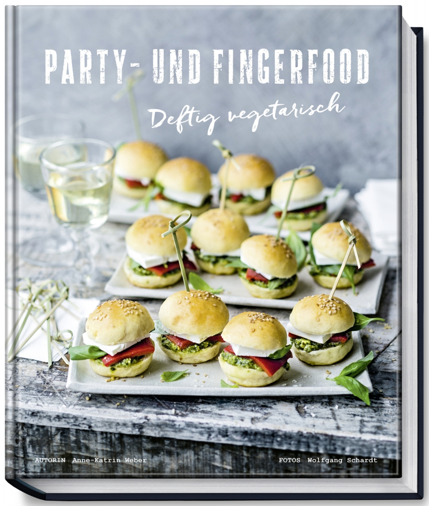 buchvorstellung deftig vegetarisch die besten party und fingerfood rezepte f r rauschende. Black Bedroom Furniture Sets. Home Design Ideas