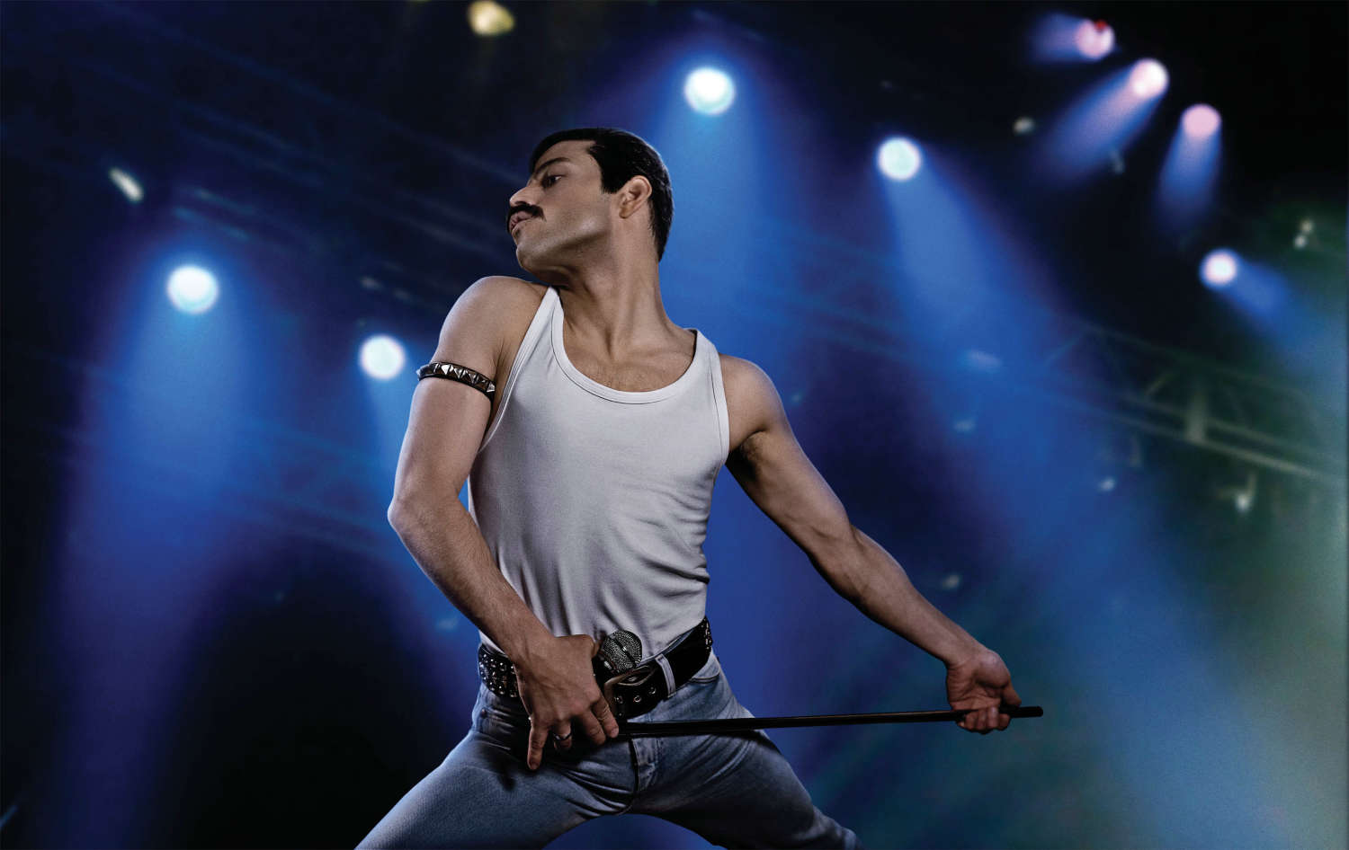 The show mus go on: Rami Malek als Freddie Mercury im Queen-Biopic. Foto: Bohemian Rhapsody / 20th Century Fox