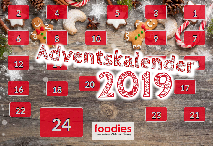 foodies Adventskalender 2019